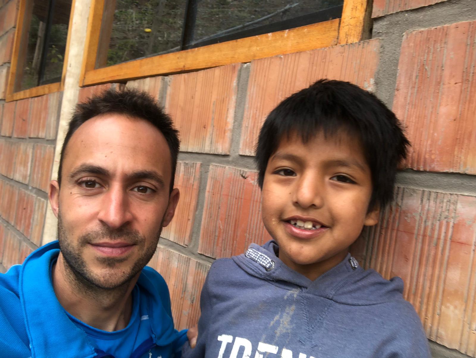 Miguel Ángel, un niño con una eterna sonrisa