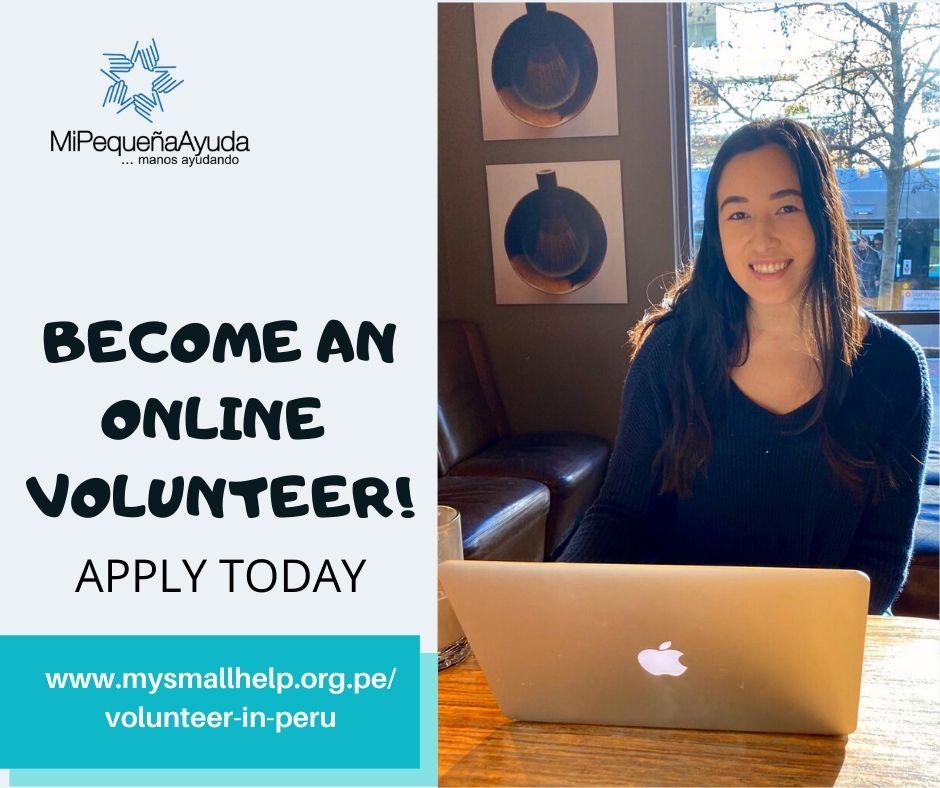 Online Volunteer Positions